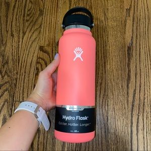 New Hydroflask 40 Oz Wide Mouth Water Bottle